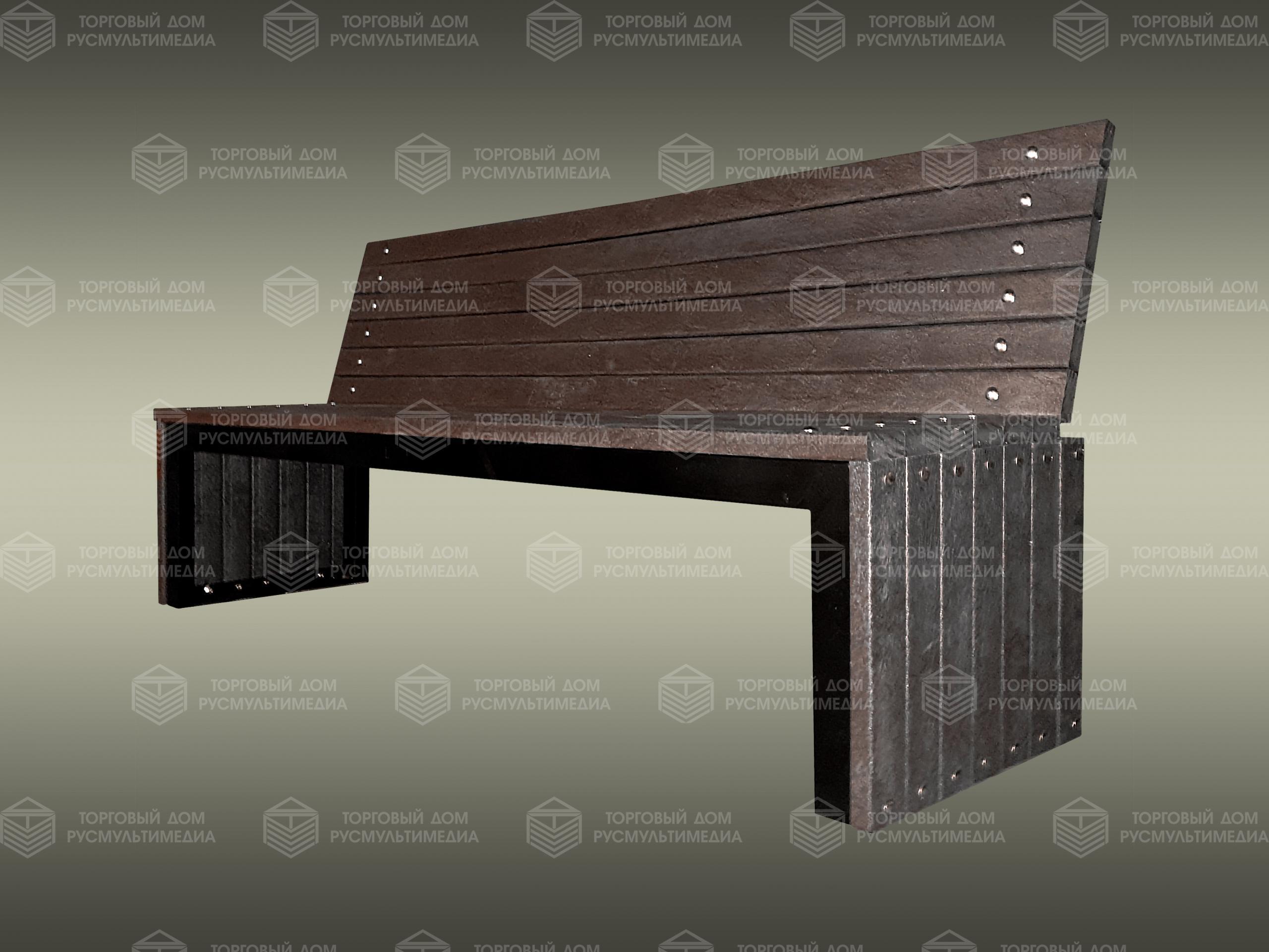 Умная скамейка - Антивандальная