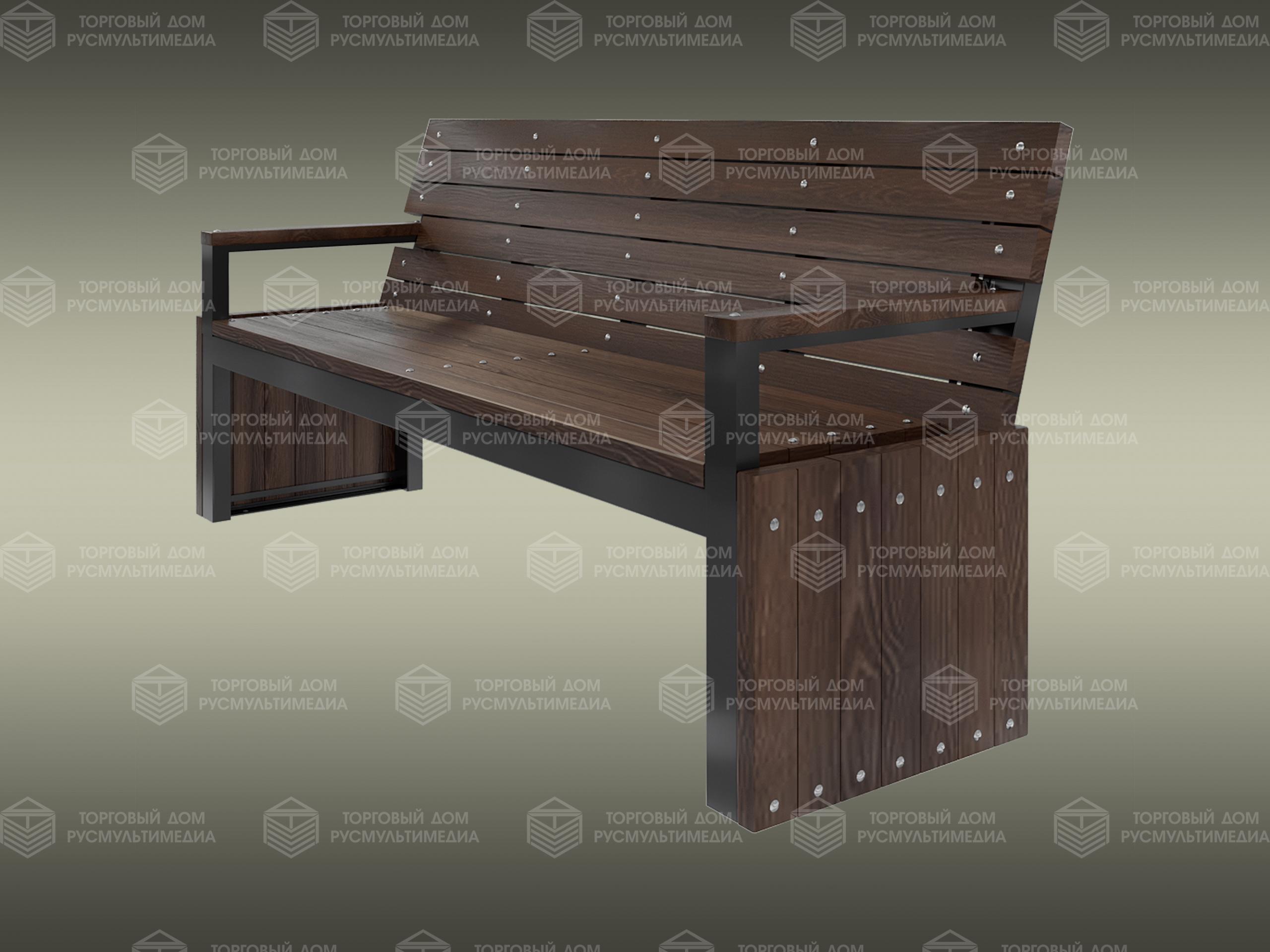 Умная скамейка - Divan
